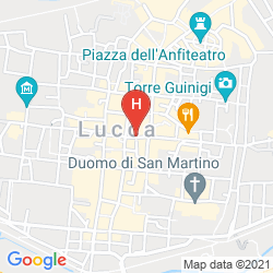Mappa LUCCA CHARM
