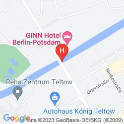Mappa COURTYARD BERLIN CITY CENTER