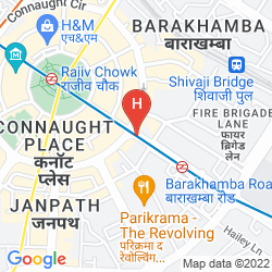 Mappa THE HANS NEW DELHI