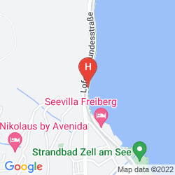 Mappa GRAND HOTEL ZELL AM SEE