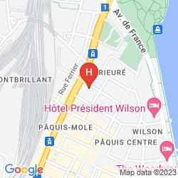 Mappa JADE MANOTEL