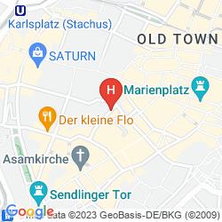 Mappa MERCURE HOTEL MUNCHEN ALTSTADT