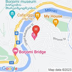 Mappa BORJOMI PALACE