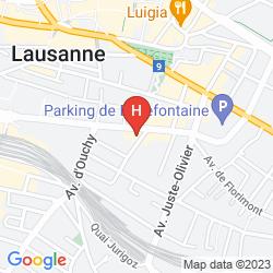 Mappa BEST WESTERN PLUS HOTEL MIRABEAU