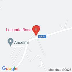 Mappa LOCANDA ROSATI