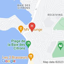 Mappa RESIDENCE MARINA BEACH