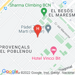 Mappa BARCELONA CONDAL MAR