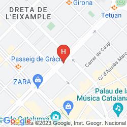 Mappa ACTA ATRIUM PALACE