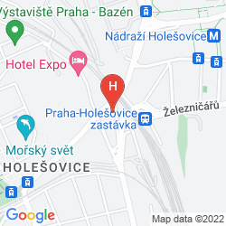 Mappa A&O HOSTEL PRAHA HOLESOVICE