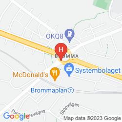 Mappa SCANDIC BROMMA