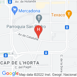 Mappa PORT ALICANTE PLAYA DE SAN JUAN