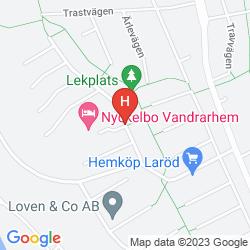 Mappa NYCKELBO VANDRARHEM