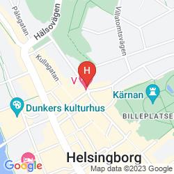 Mappa V HOTEL HELSINGBORG, BW PREMIER COLLECTION