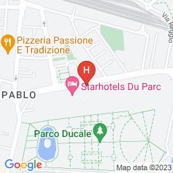 Mappa STARHOTELS DU PARC