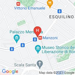 Mappa MILTON ROMA