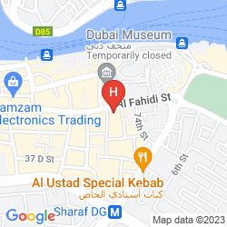 Mappa ARABIAN COURTYARD HOTEL & SPA