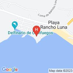Mappa CASA LARABI, PLAYA RANCHO LUNA RESORT BEACH