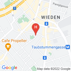 Mappa ALLYOUNEED HOTEL VIENNA4
