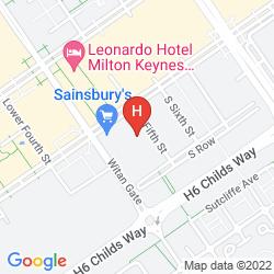 Mappa VIZION SERVICED APARTMENTS - SHORTSTAY MK