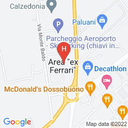 Mappa STAR HOTEL AIRPORT VERONA