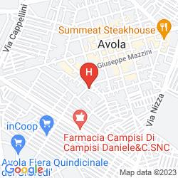 Mappa MORFEO VAL DI NOTO