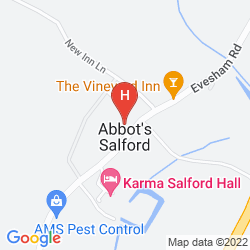 Mappa BEST WESTERN SALFORD HALL