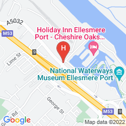 Mappa HOLIDAY INN ELLESMERE PORT - CHESHIRE OAKS