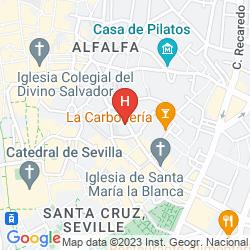 Mappa PETIT PALACE SANTA CRUZ