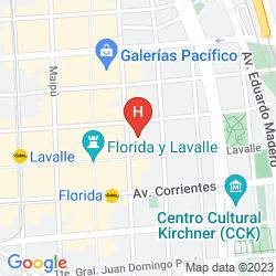 Mappa  RICANA CENTER BA