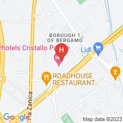 Mappa STARHOTELS CRISTALLO PALACE