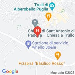 Mappa SANT'ANTONIO