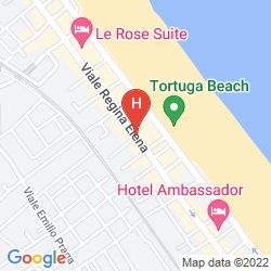 Mappa SUITE HOTEL LITORANEO