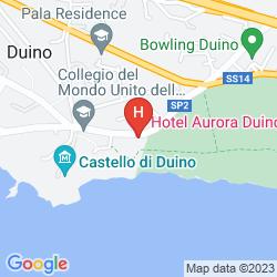 Mappa AURORA DUINO