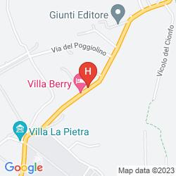 Mappa VILLA ULIVI