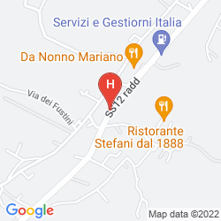 Mappa VILLA LA PRINCIPESSA