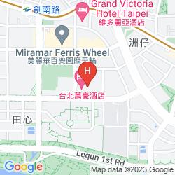 Mappa MARRIOTT TAIPEI HOTEL