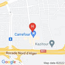 Mappa HANI HOTEL