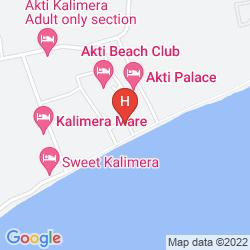 Mappa AKTI BEACH CLUB