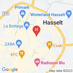 Mappa DE GROENE HENDRICKX