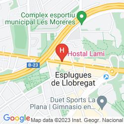 Mappa HOSTAL LAMI