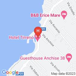 Mappa SEA CLUB HOTEL TIRRENO