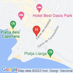 Mappa 4R PLAYA PARK