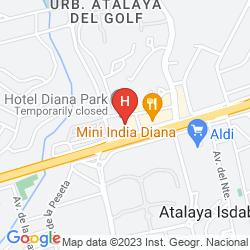 Mappa OH DIANA PARK