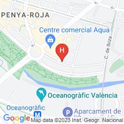 Mappa ILUNION AQUA-4