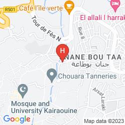 Mappa RIAD ARABESQUE