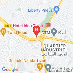 Mappa IDOU TIZNIT