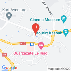 Mappa IBIS OUARZAZATE CENTRE