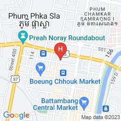 Mappa ASIA HOTEL BATTAMBANG