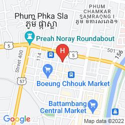 Mappa SHANG HAI GUEST HOUSE