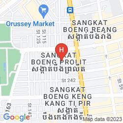 Mappa DIAMOND HOTEL & SERVICE APARTMENT